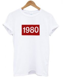 1980 Women's Casual T-Shirt KH01