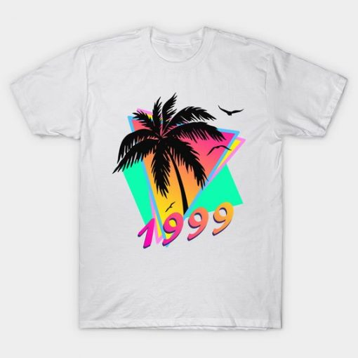 1999 Tropical Sunset T-Shirt EL01