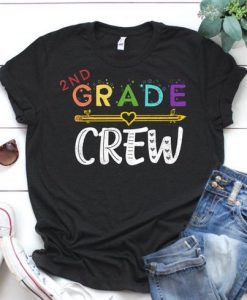 2nd Grade Crew T-Shirt SR01