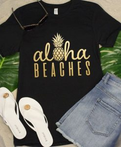 Aloha Beaches Pineapple T-Shirt SR01