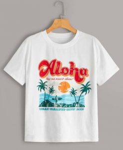 Aloha Tropical T-Shirt EL01