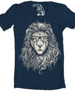 Wise Lion Men's Graphic Tee SHIRT DS01