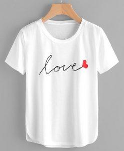 Women LOVE T-shirt FD01
