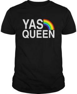 Yas Queen LGBT T-shirt FD01