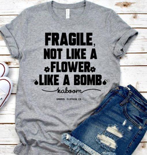 FRAGILE TEE T-Shirt AV01