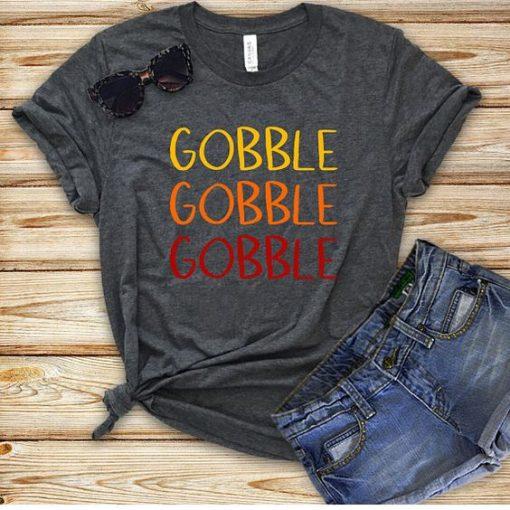 Gobble Gobble Gobble Ombre T-Shirt AV01