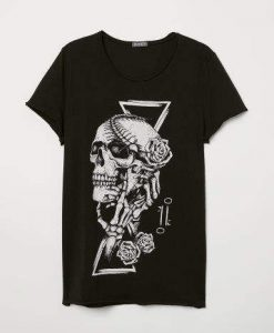 With Printed T-Shirt FR01
