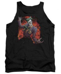 Batman Joker's Ave Adult Tank Top AZ01