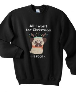 all i want christmas sweatshirt AY21N