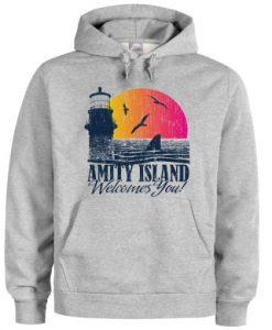 amity island Hoodie SR29N