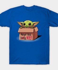 Adopt Baby Yoda T Shirt SR3D