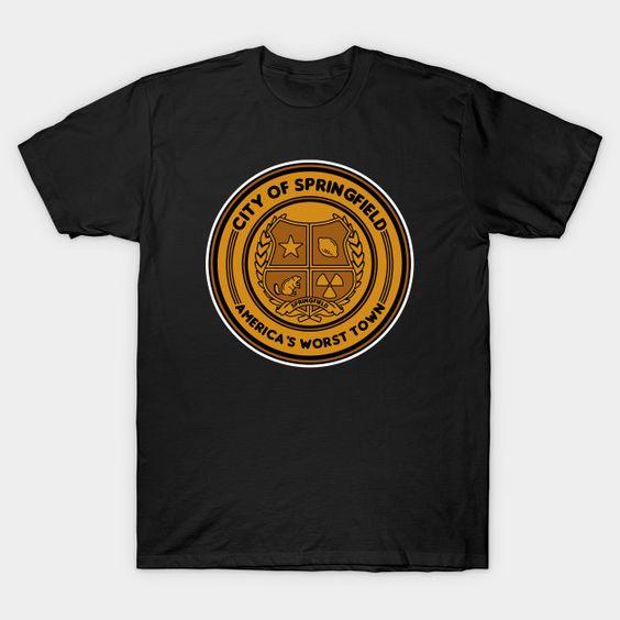 America's worst town T-Shirt MZ30D