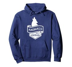 Animal Make Us Human Hoodie EL2D