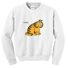 Anime Garfield Sweatshirt EL5D