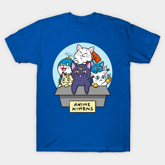 Anime Mashup t-shirt EV23D