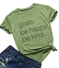 Be Happy Be Kind T-shirt RS21D