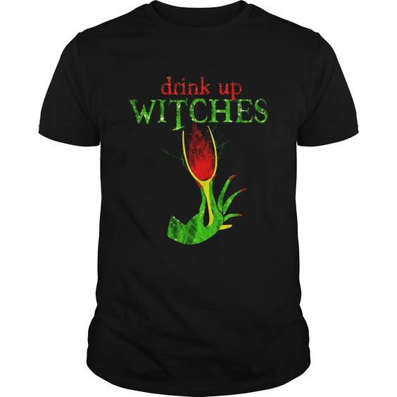 Witches Drink Up T Shirt SR12D