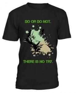 Yoda Art T Shirt SR3D