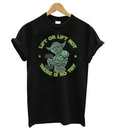Yoda Lift Tshirt EL5D