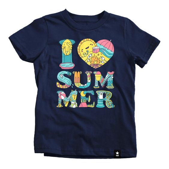 I Love Summer T-shirt FD13J0