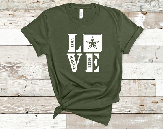 Army Love Tshirt FD27F0
