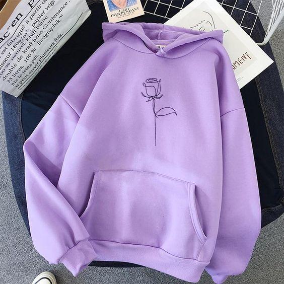 Rose hoodie AL26JN0