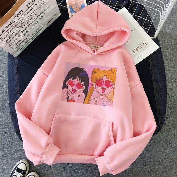 Sailor moon hoodie AL26JN0