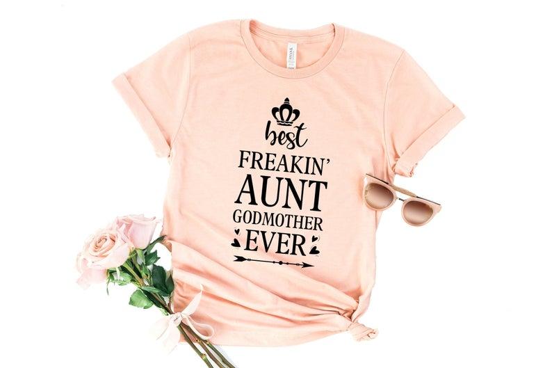 Best Freakin Aunt Shirt DF20JL0