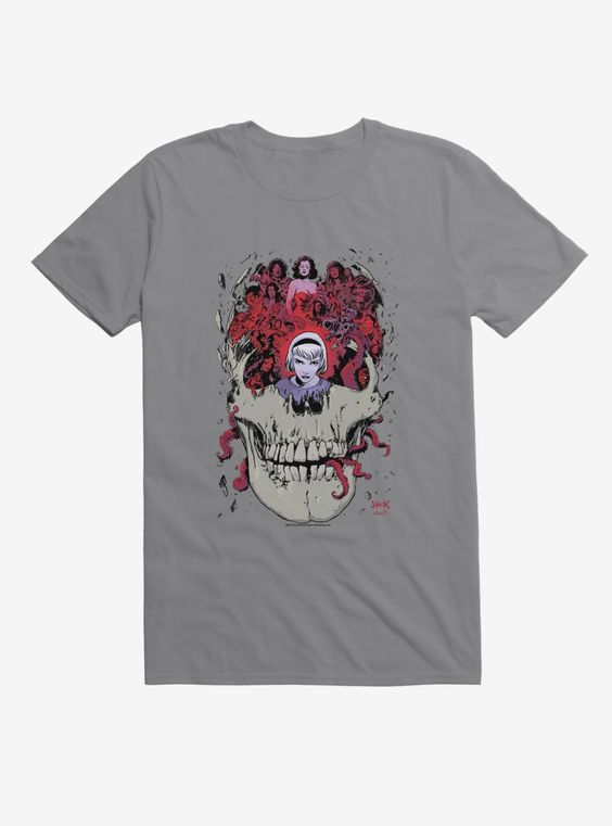 Adventures of Sabrina Skull T-Shirt AL18AG0