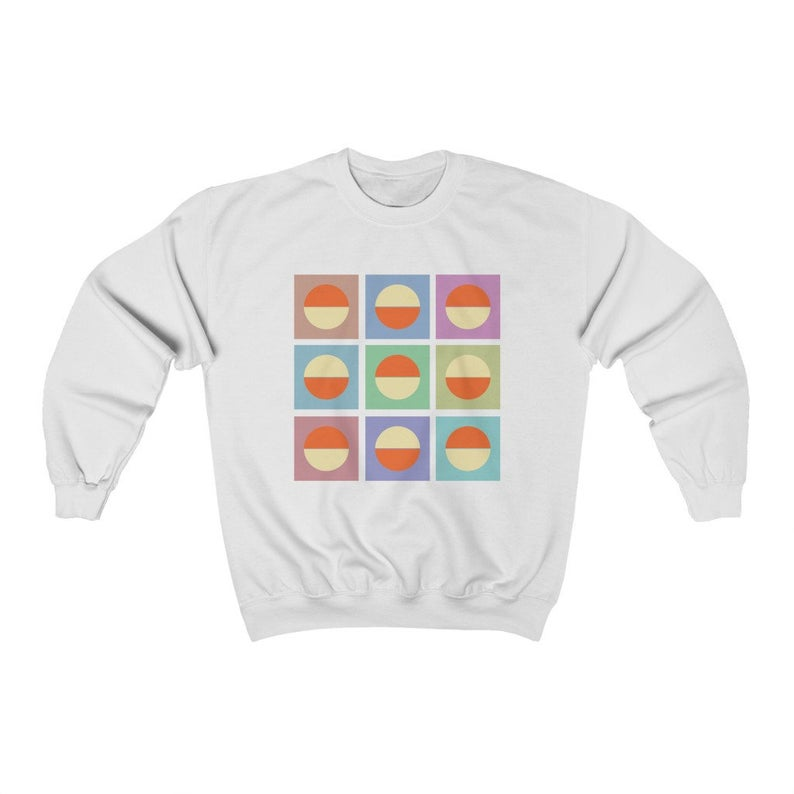 Minimal Abstract Sweatshirt AL3S0