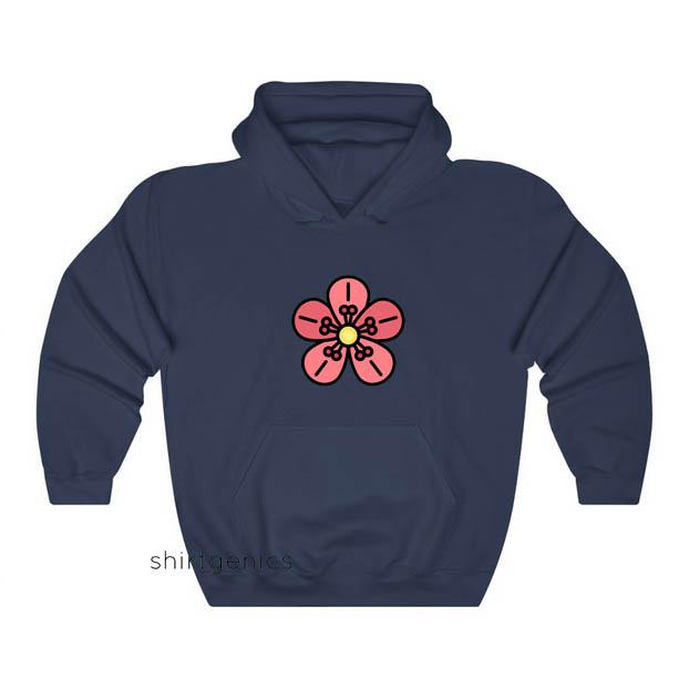 Flowers Hoodie ED18JN1