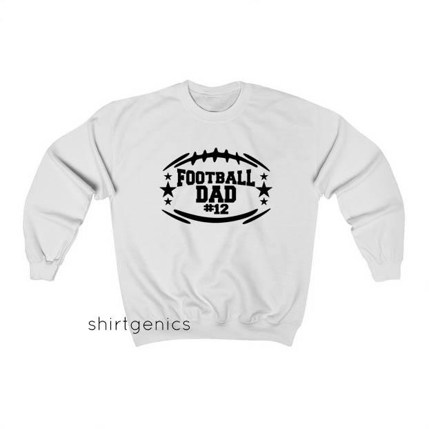 Football Dad 12 Sweatshirt ED13JN1