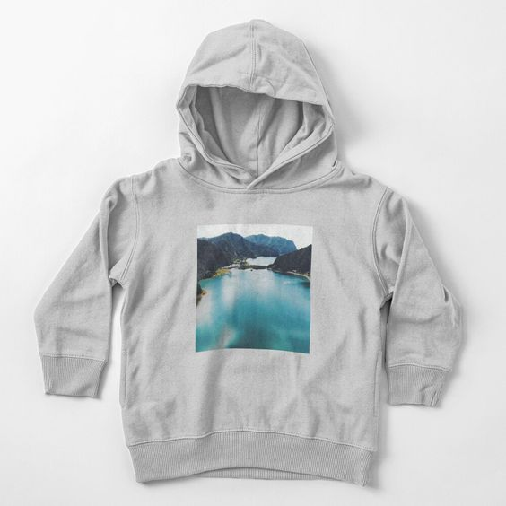 'Sea And Mountains Landscape' Toddler Hoodie DK20F1