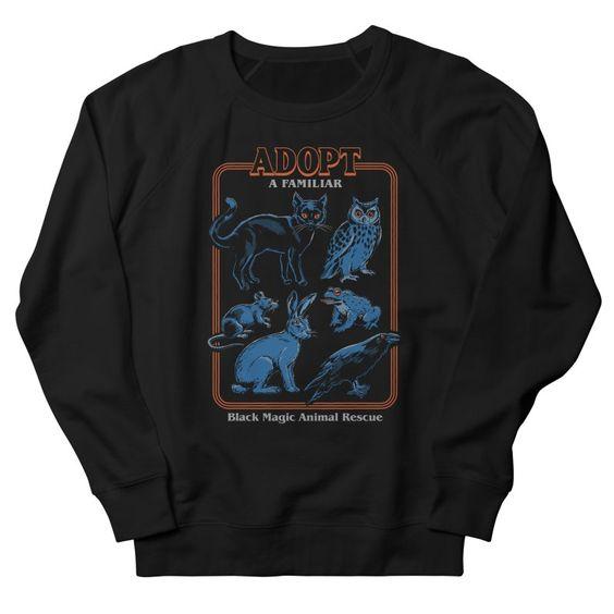 Adopt A Familiar Sweatshirt PU9A1
