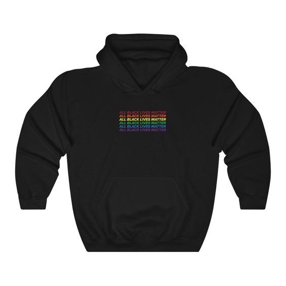 All Black Lives Hoodie IM7A1
